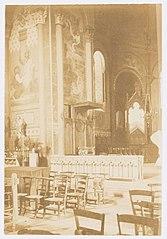 Photographie du trône épiscopal de la cathédrale d'Agen (français)