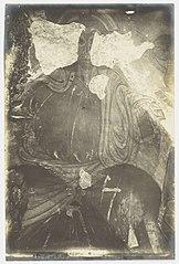 Photographie des peintures de la crypte de la cathédrale de Limoges