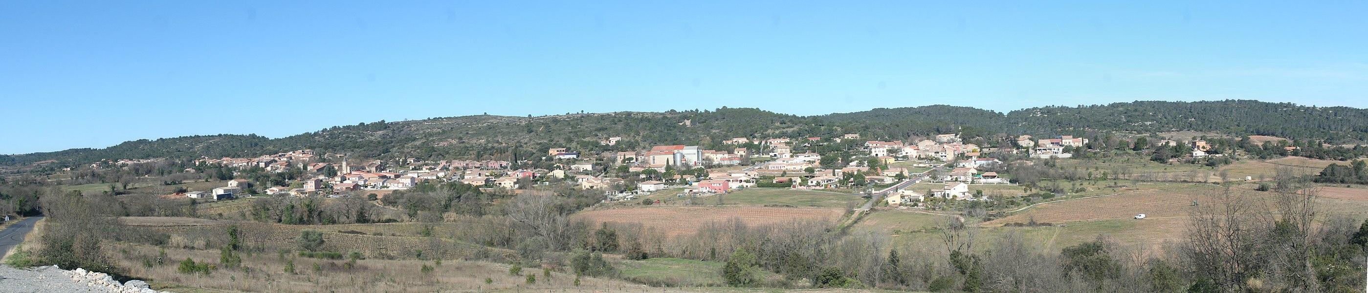 Cazedarnes (Hérault) - panorama