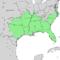 Celtis laevigata range map 3.png