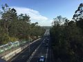 Centenary Motorway from Kenmore Road overpass southbound.JPG