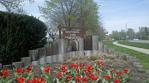 Centennial Park (Champaign, Illinois) - Image: Centennial Park Champaign