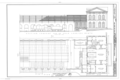 Central of Georgia Railway, Passenger Station and Train Shed, Corner of Louisville (Railroad) Road and West Broad Street, Savannah, Chatham County, GA HAER GA,26-SAV,56- (sheet 1 of 5).png
