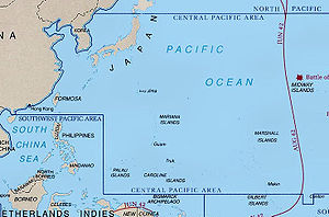 Attractive Central Pacific WwII