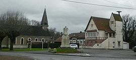 The centre of Havrincourt