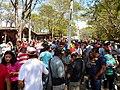 Cerca de 5000 pessoas visitam a feira todo domingo.JPG