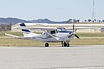 Cessna U206G Stationair (VH-HIS), with magnetometer 'stinger' tailboom, at Wagga Wagga Airport (1).jpg