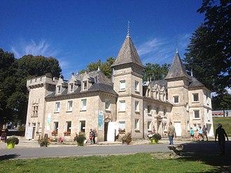 Beaumont-du-Lac - Beaumont-du-Lac Castle on the Isle of Vassivière