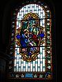 Chéraute ( Pyr-Atl, Fr) Chapelle de Hoquy, vitrail Annonciation.JPG