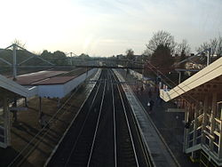 Chadwell Heath stn slow platforms high westbound 2013.JPG