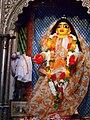 Chaitanya Mahaprabhu in Dhameswar Mahaprabhu temple.jpg