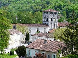 Chancelade - Image: Chancelade abbaye 1