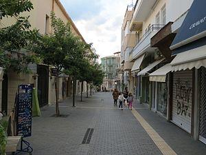 Handakos Street - Image: Chandakos street, Heraklion