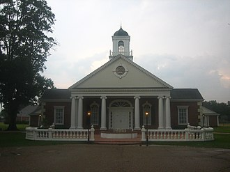 "Monroe, Louisiana - Frank ""Buddy"" Flowers Chapel at Louisiana Baptist Children's Home in Monroe"