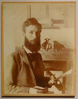 Charles Franklin Reaugh, photographer unknown, c. 1885-1895 - Harry Ransom Center - University of Texas at Austin - DSC08427.jpg