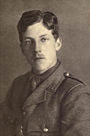 Charles Sorley - Image: Charles Hamilton Sorley (For Remembrance) cropped and retouched