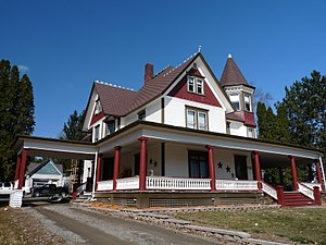 National Register of Historic Places listings in Clark County, Wisconsin - Image: Charles and Theresa Cornelius House Neillsville
