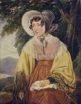 Henry William Pickersgill - Charlotte Williams-Wynn by Henry William Pickersgill, c. 1840