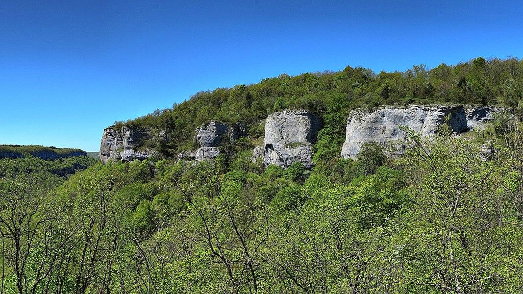 Réserve naturelle nationale du ravin de Valbois  Les dents de Léri