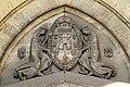 Chauny (02), église Saint-Martin, croisillon sud, tympan du portail.jpg