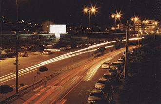 Quri Chay - Chay kenar at night.