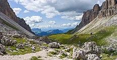 Chedul Mont de Sëuc Mont de Sëura de Chedul Gherdëina.jpg