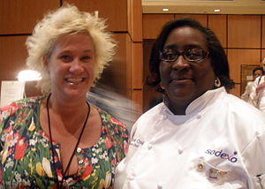 Anne Burrell - Burrell (left) and Jackie Craig in June 2010