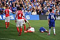 Chelsea 2 Arsenal 0 Top team performance, top of the league. (15452568425).jpg