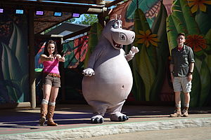 Madagascar (franchise) - Image: Chessington Madagascar Show