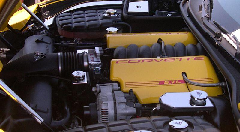 Gen III LS1 engine in corvette