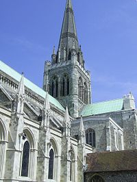 Chichester Cathedral today