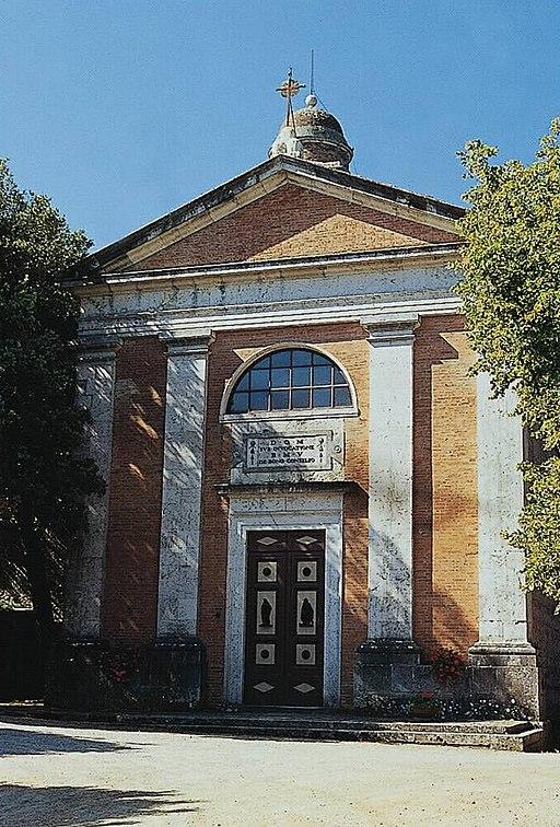 Chiesa dalla Madonna del Buon Consiglio, Chiusdino