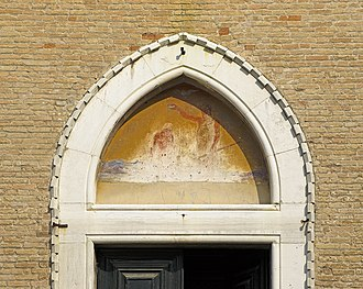 San Giovanni in Bragora - Image: Chiesa di San Giovanni in Bragora tympan