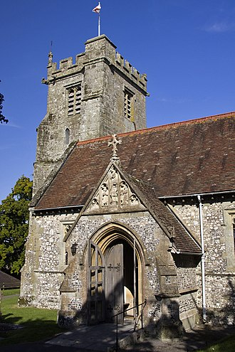 Child Okeford - Image: Child Okeford church