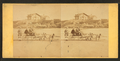 Children in goat cart on beach, from Robert N. Dennis collection of stereoscopic views 4.png