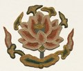 China, 14th century - Fragment with Buddhist Jar supported by a Lotus - 1992.92 - Cleveland Museum of Art.tif