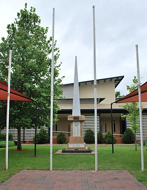 Chinchilla, Queensland - Chinchilla War Memorial, 2008