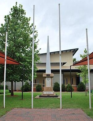 Chinchilla, Queensland - Chinchilla War Memorial, 2008