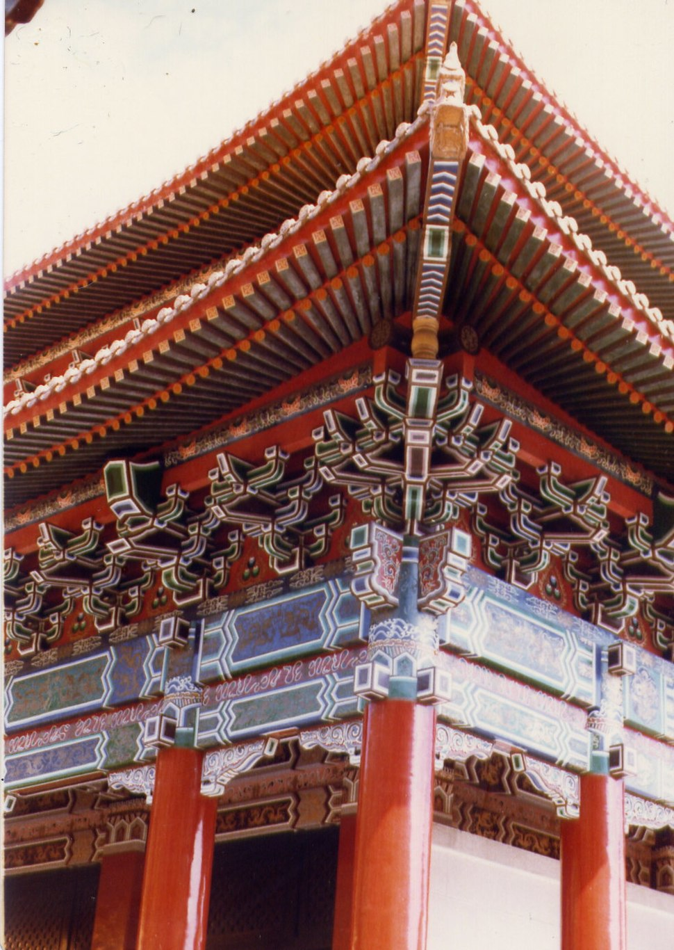 Chinese Temple Roof 1