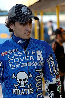 Chris Holder Australian speedway rider