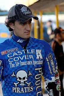 Chris Holder Australian speedway rider (born 1987)