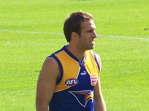 Chris Judd - Judd on the field during the 2006 AFL Season