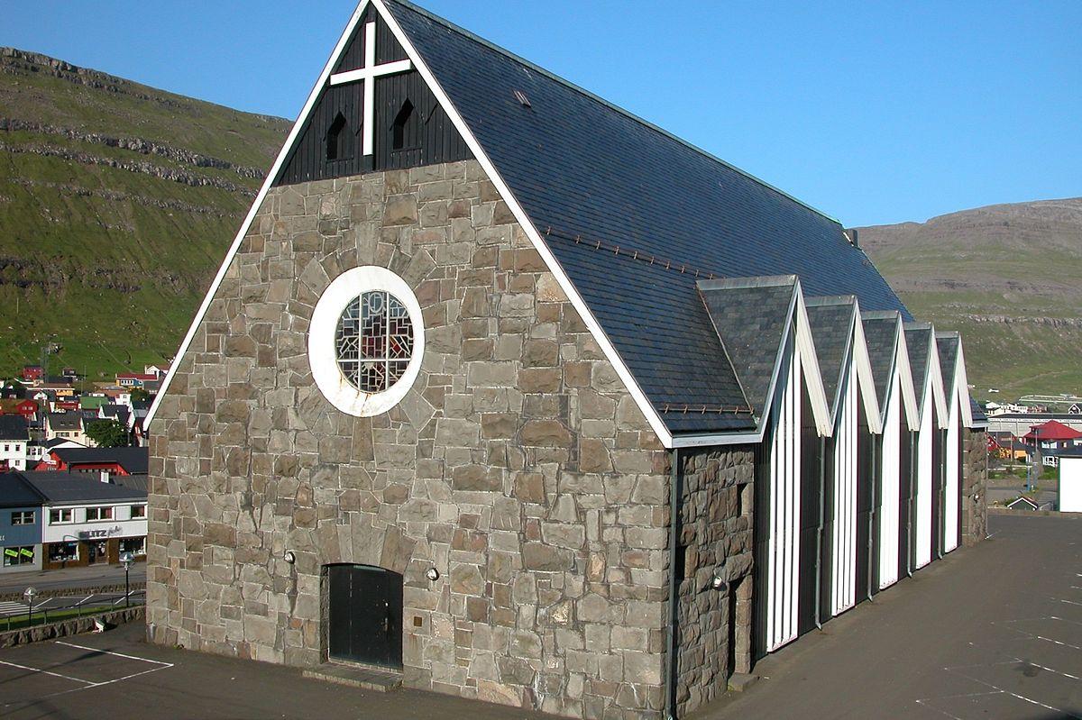 New Modern Front Elevation : Christianskirkjan wikipedia