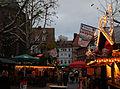 Christmas Market Kaiserslautern 2009 Marktstrasse.JPG