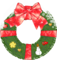 Christmas wreath variation snow.png