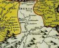 Christoph Weigel. Asia intra Mæotim pontvm et mare Caspivm. 1720 Iberia.png