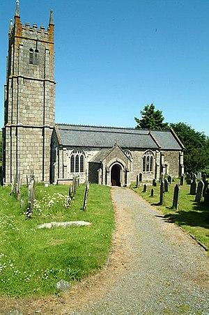 Christow - Image: Christow Church geograph.org.uk 18174