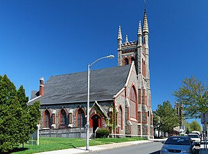 Church of the Ascension (Fall River, Massachusetts) - Image: Church Ascension Fall river