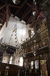 Church of the Nativity iconostasis 2010 10.jpg