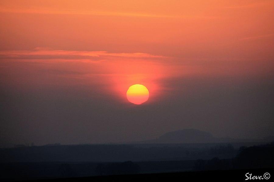 Le soleil couchant est un artiste de génie